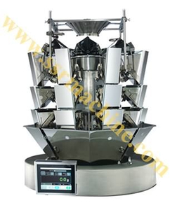 3-Layer 8 Heads scale Vertical weighing packing system