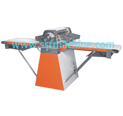 Commercial stand type bakery equipment automatic pizza dough sheeter for pastry used