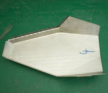 Dimpled Linear Feeder Pan of head sacle